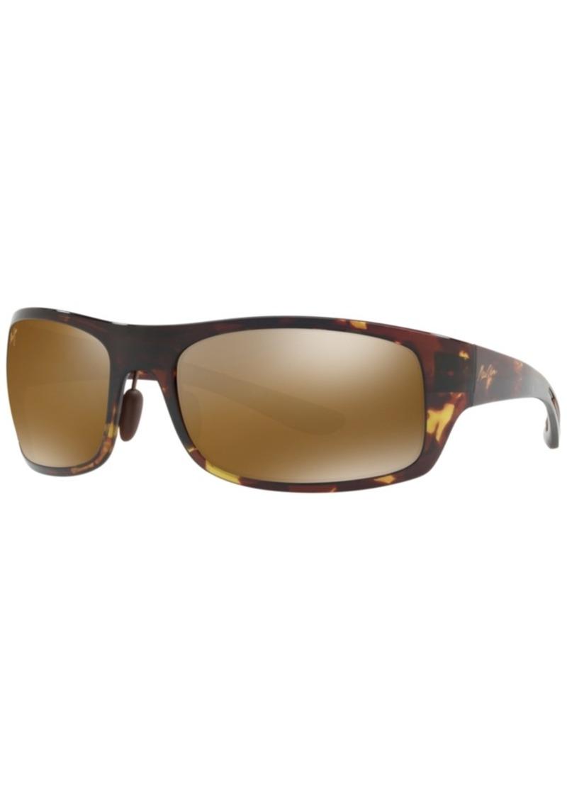 Maui Jim Polarized Sunglasses, 438 Alelele Bridge 60
