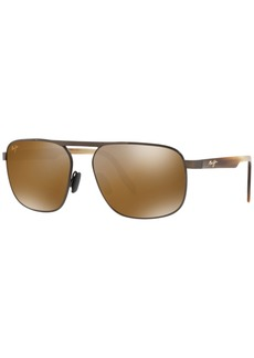 Maui Jim Polarized Sunglasses, 777 Waihee Ridge 60