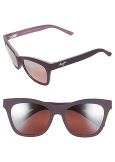 Maui Jim Sweet Leilani 53mm PolarizedPlus2® Cat Eye Sunglasses