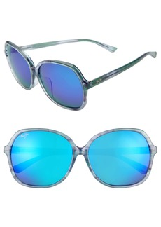 Maui Jim Taro 59mm PolarizedPlus2® Round Sunglasses