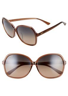 Maui Jim Taro 59mm PolarizedPlus2® Round Sunglasses