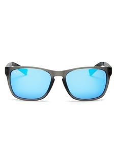 Maui Jim Unisex Longitude Polarized Square Sunglasses, 53mm