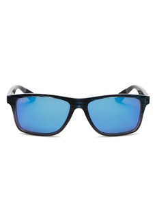 Maui Jim Unisex Onshore Polarized Rectangular Sunglasses, 58mm