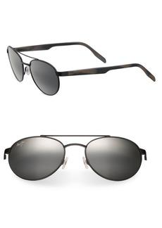 Maui Jim Upcountry Vintage Aviator Sunglasses