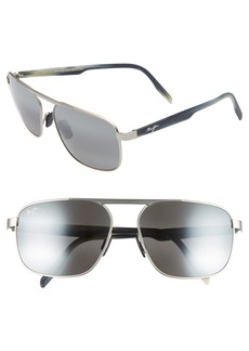 Maui Jim Waihe'e Ridge 60mm Polarized Sunglasses