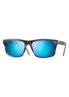 Maui Jim Waipio Valley 57mm Polarized Sunglasses