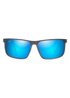 Maui Jim Wana 61mm PolarizedPlus2® Rectangle Sunglasses