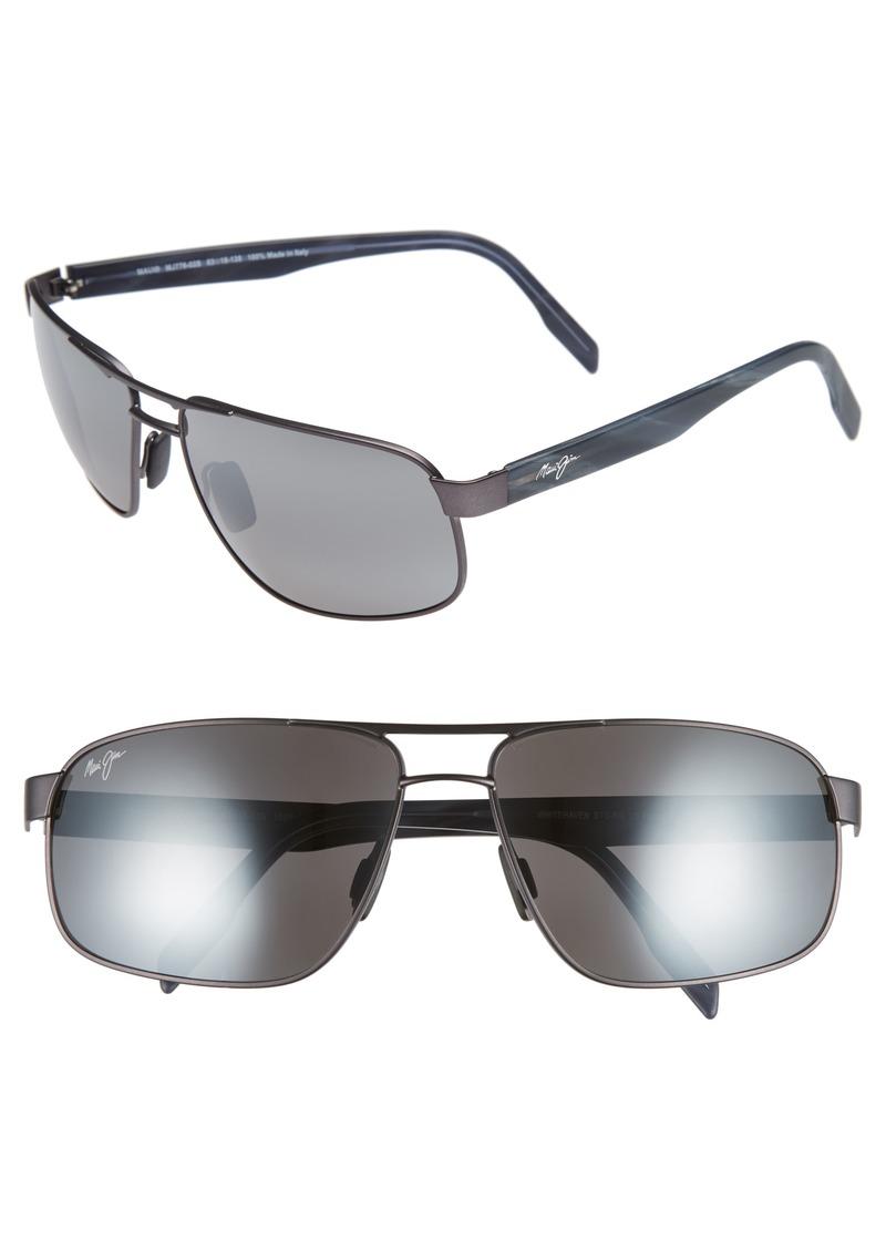 Maui Jim Whitehaven 63mm Polarized Sunglasses