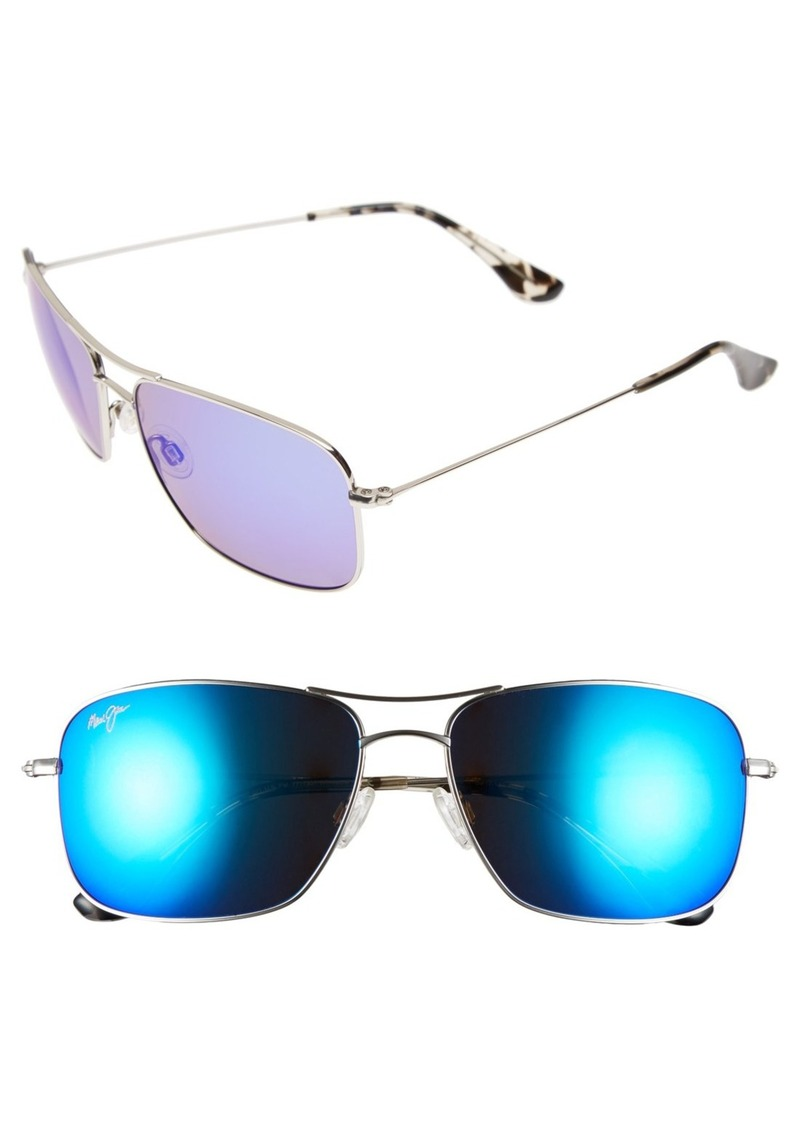 Maui Jim Wiki Wiki 59mm PolarizedPlus2® Aviator Sunglasses