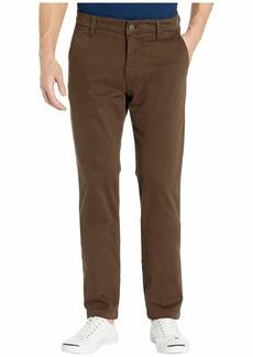 Mavi Edward Twill Regular Rise Slim Straight Leg in Coffee Bean Twill