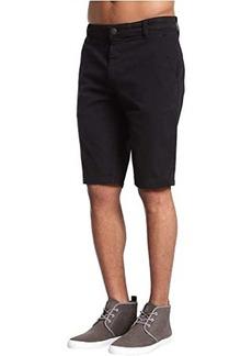 Mavi Jacob Shorts in Black Sateen Twill