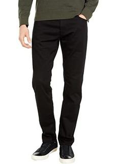 Mavi Jake Slim Leg in Double Black Supermove
