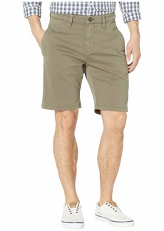 Mavi Matteo Shorts in Dusty Olive Sateen Twill