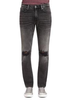 Mavi Jake Brooklyn Slim Fit Jeans in Mid Gray