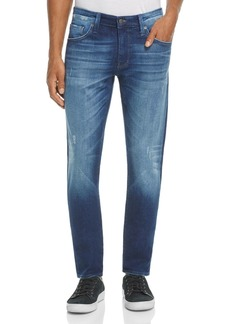Mavi Jake Brooklyn Slim Straight Fit Jeans in Blue