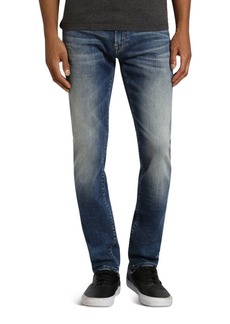 Mavi Jake Slim Fit Jeans in Authentic Vintage