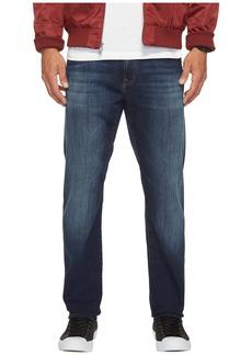 Mavi Jake Regular Rise Slim in Dark Brushed Williamsburg