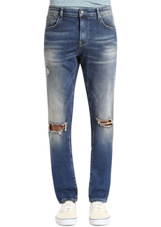 Mavi Jeans Jake Slim Fit Jeans (Ripped Authentic Vintage)
