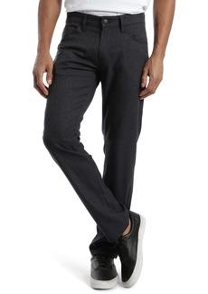 Mavi Jeans Marcus Slim Straight Leg Five Pocket Pants (Smoke Feather Tweed)