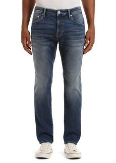 Mavi Jeans Marcus Slim Straight Leg Jeans (Dark Brushed Organic Move)