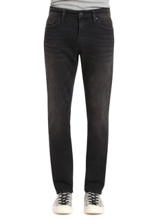 Mavi Jeans Marcus Slim Straight Leg Jeans (Dark Smoke Williamsburg)