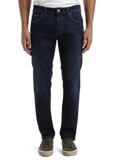 Mavi Jeans Marcus Slim Straight Leg Jeans (Deep Blue Supermove)