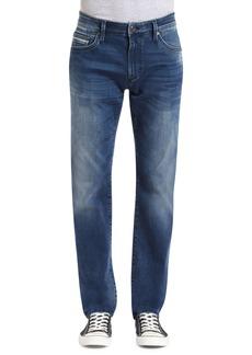 Mavi Jeans Marcus Slim Straight Leg Jeans (Forest Blue White Edge)