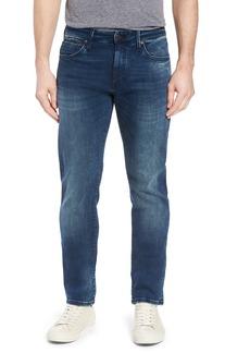 Mavi Jeans Marcus Slim Straight Leg Jeans (Forest Blue Williamsburg)