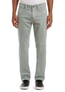 Mavi Jeans Marcus Slim Straight Leg Jeans (Green Milieu Comfort)
