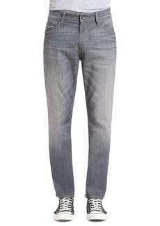 Mavi Jeans Marcus Slim Straight Leg Jeans (Light Grey White Edge)