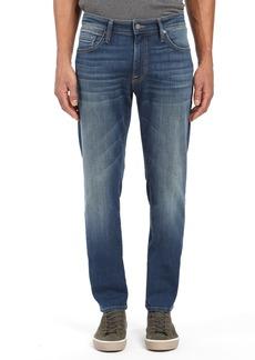 Mavi Jeans Marcus Slim Straight Leg Jeans (Mid Shaded Williamsburg)