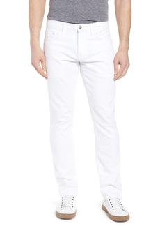 Mavi Jeans Marcus Slim Straight Leg Jeans (White Williamsburg)