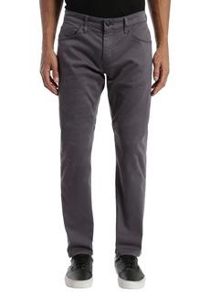 Mavi Jeans Marcus Slim Straight Leg Pants (Blackened Pearl Sateen)