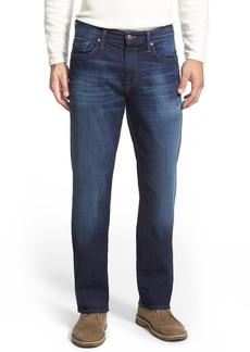 Mavi Jeans 'Myles' Straight Leg Jeans (Dark Williamsburg) (Regular & Tall)