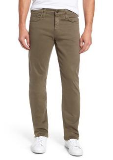 Mavi Jeans Myles Straight Leg Twill Pants (Dusty Olive Twill)