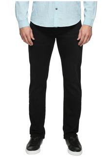 Mavi Zach Regular Rise Straight Leg in Blue Black Williamsburg
