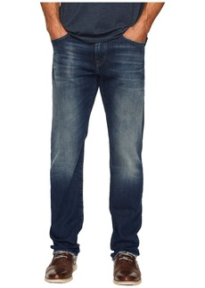 Mavi Zach Regular Rise Straight Leg in Light Shaded Authentic