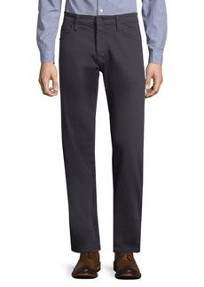 Mavi Zach Indigo Twill Straight-Leg Pants