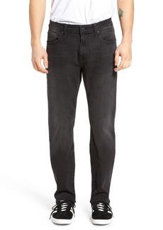 Mavi Jeans Zach Straight Fit Jeans (Smoke Chelsea)