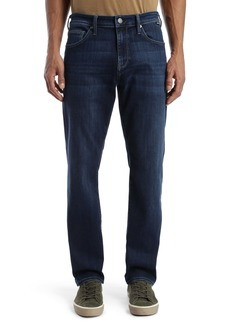 Mavi Jeans Zach Straight Leg Jeans (Dark Blue Supermove)
