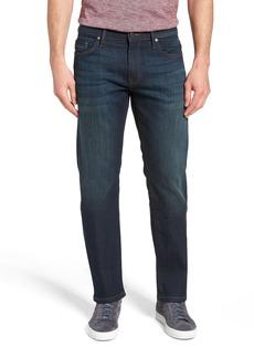 Mavi Jeans Zach Straight Leg Jeans (Dark Foggy Capitol Hill)