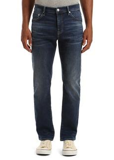 Mavi Jeans Zach Straight Leg Jeans (Dark Indigo Organic Move)
