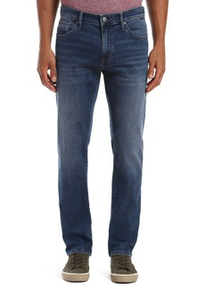 Mavi Jeans Zach Straight Leg Jeans (Dark Super Move)