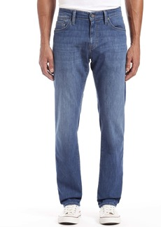 Mavi Jeans Zach Straight Leg Jeans (Indigo Chambray)