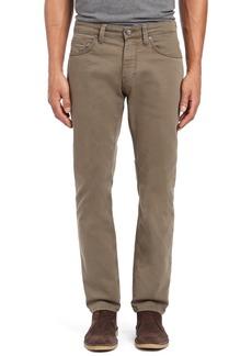 Mavi Jeans Zach Straight Leg Jeans (Khaki Washed Comfort)