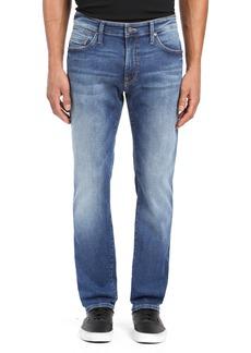Mavi Jeans Zach Straight Leg Jeans (Mid Brushed Cashmere)