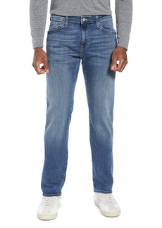 Mavi Jeans Zach Straight Leg Jeans (Mid Foggy Williamsburg)