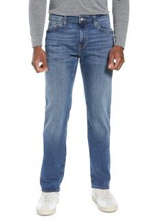 Mavi Jeans Zach Straight Leg Jeans (Mid Foggy Williamsburg)