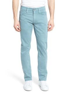 Mavi Jeans Zach Straight Leg Jeans (Smoke Blue Twill) (Regular & Big)