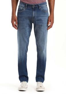 Mavi Marcus Slim Straight Leg Jeans (Mid Authentic Brushed Vintage)